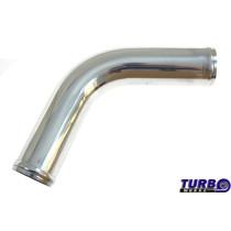 Aluminium cső 67 fok 57mm 30cm
